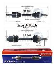 For Mazda MX-6 626 Ford Probe FWD Turbo Pair of Front CV Axle Shafts SurTrack