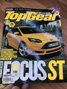 TOP GEAR UK CAR magazine JULY 2012 FOCUS ST G63 M6 V40 FX GTI ZAGATO VXR GT500
