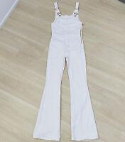 Frame Denim New White Flared Jumpsuit Women's Size Small