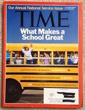 Time Magazine September 2010 Education Public Schools, Tea Party, Chilean MIners