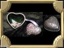 Pewter Cloisonn'e Heart