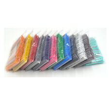 12 Colorful Colors Od2.7mm Fiber Optic Fusion Splice Protection Sleeves 1200pcs