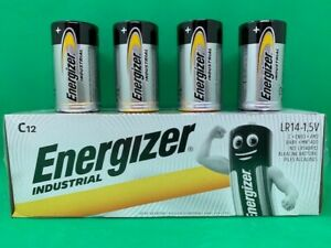 ENERGIZER C SIZE BATTERIES ALKALINE POWER BATTERY LR14 1.5V LONGEST EXPIRY