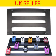 More details for new alloy metal pedalboardseffects pedal board cases electric guitar+10x explant