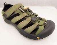 KEEN NEWPORT H2 Women's Green Yellow Waterproof Hiking Trail Sandal Shoes Sz 5