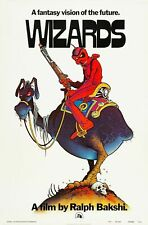 231966 1977 WIZARDS MOVIE WILLIAM STOUT ARTWORK WALL PRINT POSTER FR