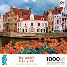 CEACO BON VOYAGE JIGSAW PUZZLE BRUGES JIM ZUCKERMAN 1000 PCS #3368-5 TRAVEL