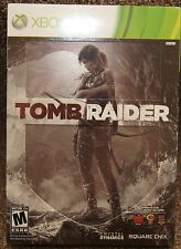 New! Tomb Raider [Exclusive Steelbook Edition] (Xbox 360, 2013) - NTSC Version