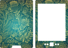 Kindle 4 e Lector de Libros Skin Cover pegatina de vinilo Azul Patrón Oro 2011 kin42