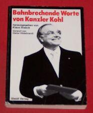 Groundbreaking words of Chancellor Kohl, Klaus Staeck, Steidl publishing, TB, 1985