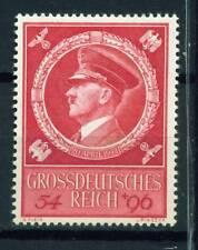 Germany WW2 Third Reich Symbols Hitler's Birthday stamp 1944 MLH