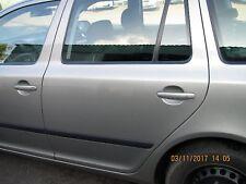 Skoda Octavia II Typ 1Z Combi  Tür Türblatt Seitentür hi li 9202 cappuccinobeige
