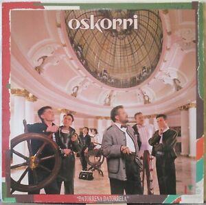 OSKORRI Datorrena Datorrela LP Basque Folk-Rock, on Elkar Records