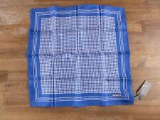 TOM FORD light blue silk pocket square authentic - NWOT