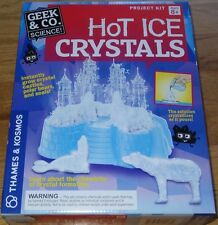 Hot Ice Crystals Science Project Kit Thames & Kosmos Geek and Co. crystal