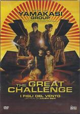 Dvd **THE GREAT CHALLENGE ~ I FIGLI DEL VENTO** con The Yamakasi Group nuovo