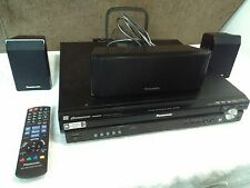 Panasonic 5 Disc Changer Hdmi Dvd Home Theater Sound System Player Texted