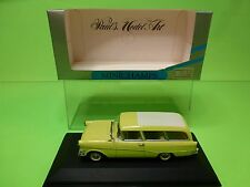 MINICHAMPS 43210 OPEL REKORD P1 CARAVAN 1958-1960 - YELL 1:43 - NEAR MINT IN BOX