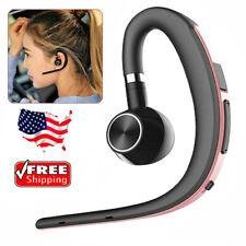 Handsfree Bluetooth Headset Earphone Earpiece for iPhone Samsung S21 S20 S10 S9