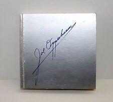 JOE OPPEDISANO Vademecum SIGNED 1st Edition Photography Blu Bird Italy 2000 ART