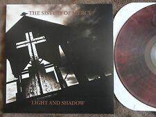 Sisters Of Mercy- Light & Shadow Vinyl LP BLOOD RED NM First/Last/Always Demos