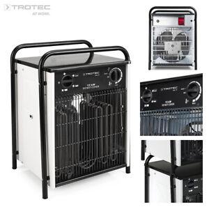 TROTEC Elektroheizer TDS 75 Heizgerät Heizlüfter max. 15 kW Heizleistung