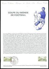 France CEF 1982 fútbol Football futbol soccer sport especial hoja z2162