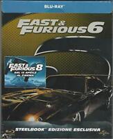 BLU RAY : FAST & FURIOUS 6 STEELBOOK  (METAL BOX) NUOVO SIGILLATO