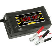 Intelligentes Batterieladegerät 12V / 10A 150Ah Batterieerhaltungsgerät Auto PKW