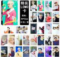 30pcs set Kpop GOT7 Jackson Wang Personal Photo Picture Poster 2016 Lomo Cards
