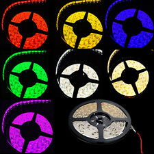 5M Waterproof SMD 3528 300/600 LED Strip Light Red/Blue/Green/Warm White/Pink