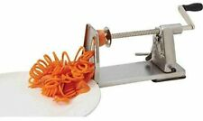 Stainless Steel Vegetable Spiral Maker Cutter Slicer Curly Potato French Fry Kit