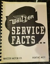 Whizzer Shop and Parts Manual - Brand New!