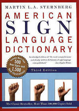 American Sign Language Dictionary by Martin L. A Sternberg (Hardback, 2003)
