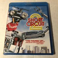 Short Circuit 2 Blu-ray 1988 Johnny Five Brand New Rare OOP Movie