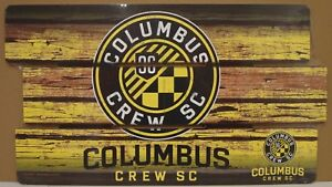 "COLUMBUS CREW SC LOGO WOOD SIGN 14""X25'' BRAND NEW FREE SHIPPING WINCRAFT"
