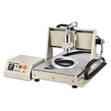 4 Axis 6040 Router Engraver USB 1500W 3D Cutter Metal Carving Machine +Handwheel