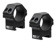 UTG/Leapers Pro 30mm Low Profile Picatinny Rail Mount Scope Ring Set - RWU013010