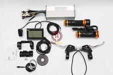 48V 1200W Brushless DC Sine Wave Controller+LCD+Throttle+PAS+Speed Sensor+BrakeS
