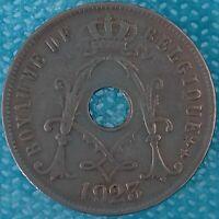 Moneda Monedas Bélgica 1923 25 Céntimos Ref:0245