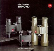 Broschüre Leica Leitz-Fernglaser TRINOVID Technische Daten