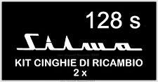 ★KIT CINGHIE DI RICAMBIO 2 x PROIETTORE S.8 SILMA 128 S (motore/trascinamento)★