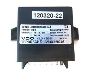 Porsche 928 S4 relay lamp control unit 92864160306