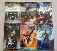 Nova by Abnett and Lanning TPB Lot Volume 1-6 Full Set RARE OOP Realm of Kings