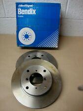 561599B Bendix Front Brake Discs (Pair) Fits Suzuki Swift 1.3 Engine 1988 - 1992