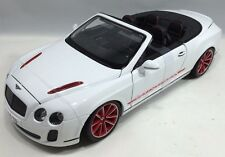 Bburago - 18-11035 -Bentley Continental Superspotrs Convertible Scale 1:18 WHITE