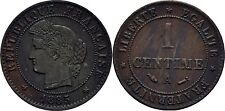 1 Centime 1885 A Frankreich, Stern #L550