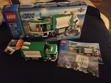LEGO- CITY- GARBAGE TRUCK- 4432- USED- 100% COMPLETE W/ OPEN BOX