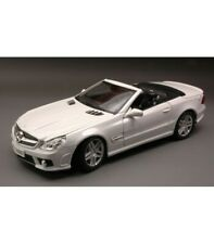 MERCEDES SL 63 AMG 2009 WHITE 1:18