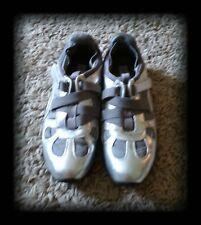 NEWPORT NEWS Fashion Tennis Shoes Silver Metallic Womens size 9 EUC